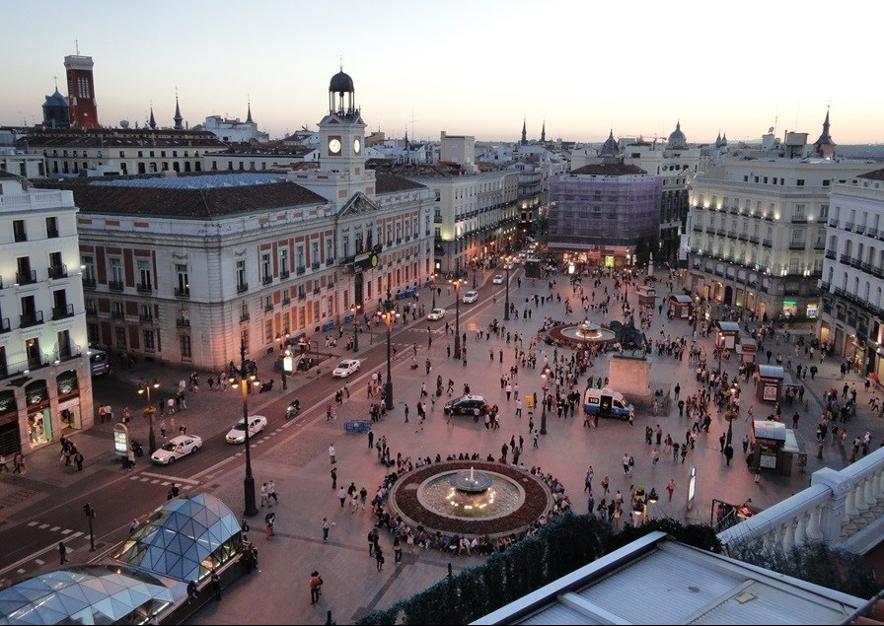 Alojarse en la Puerta del Sol