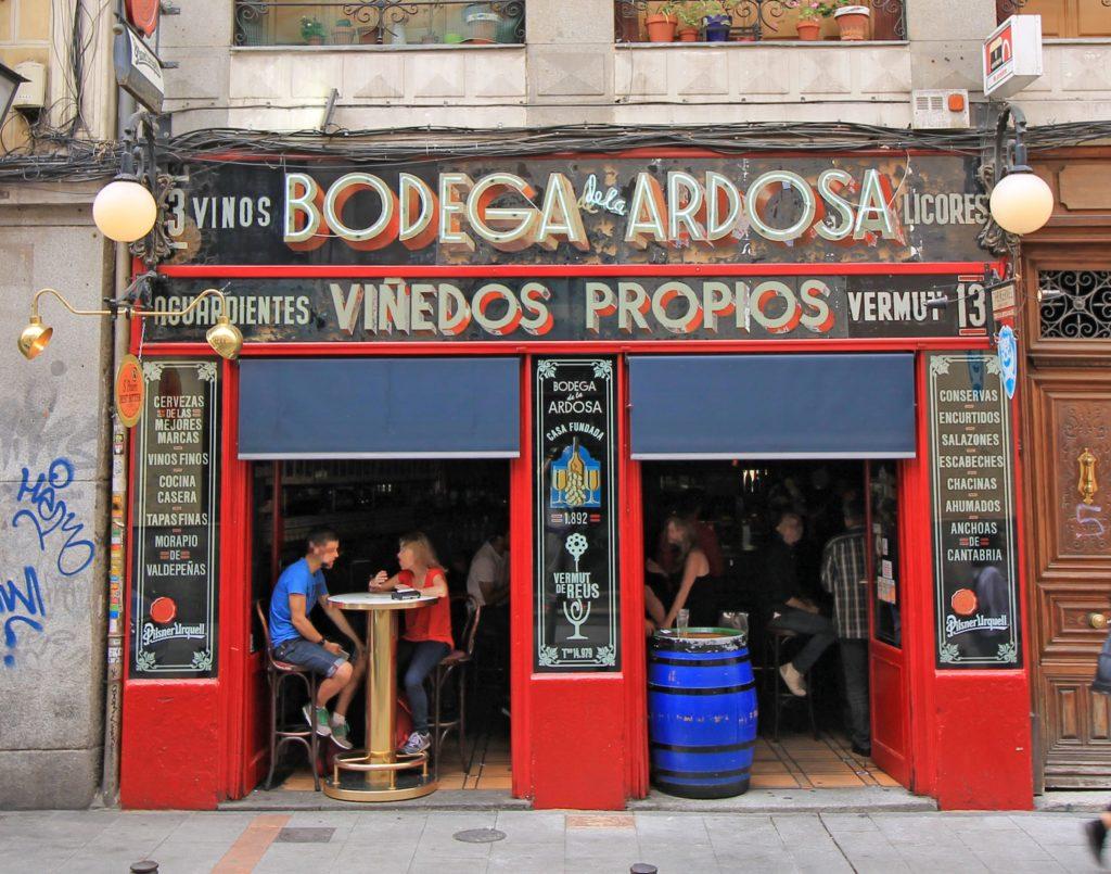 La Ardosa Madrid Dónde tomar el aperitivo en Madrid