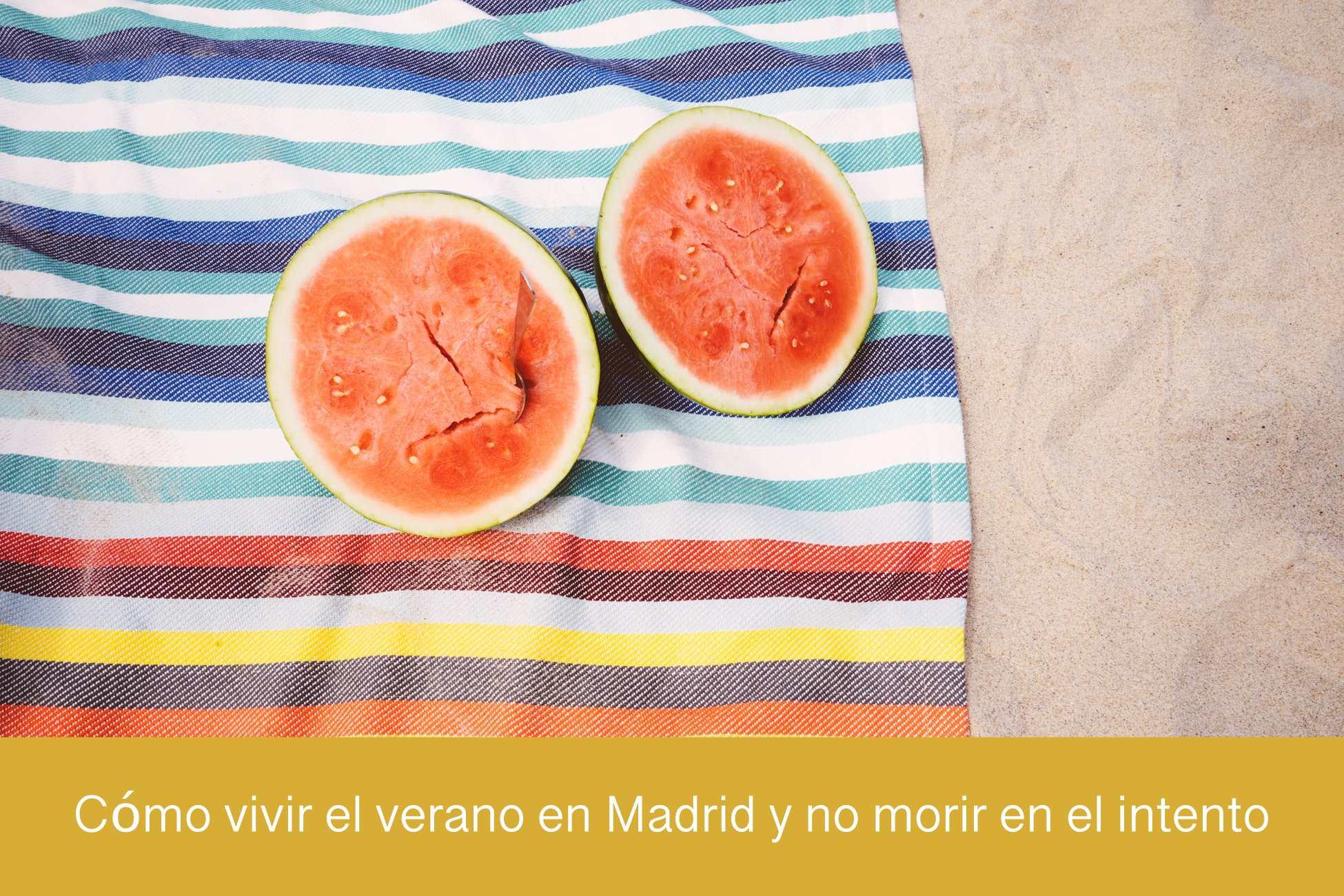 Vivir el verano en Madrid