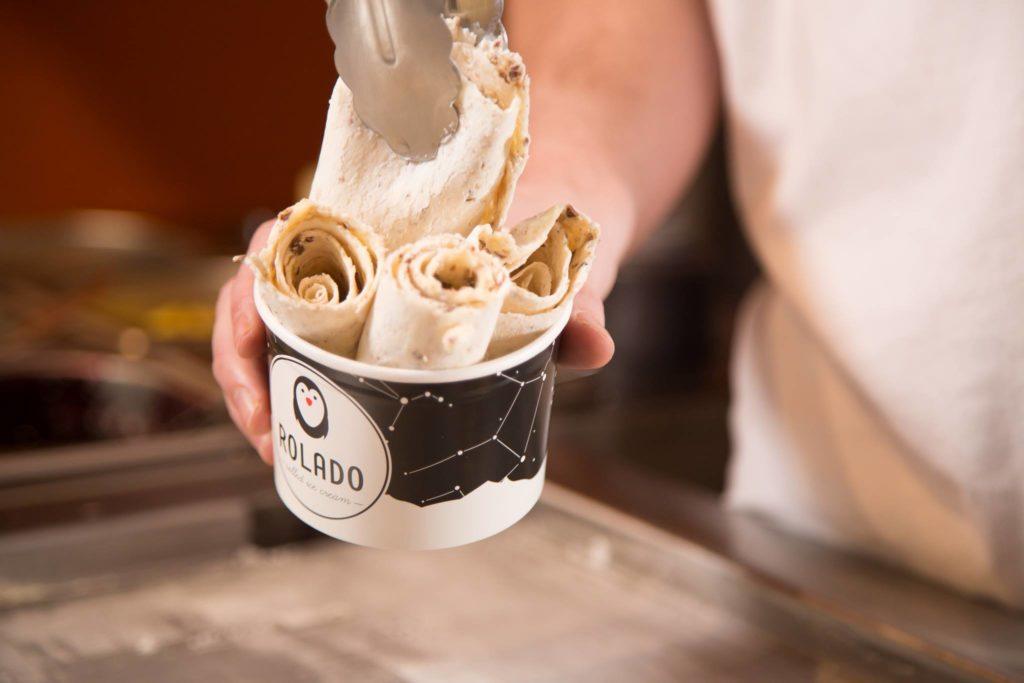 Rolado ice Cream Madrid