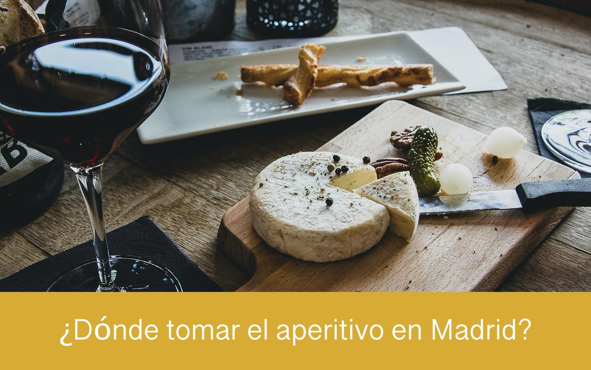Dónde tomar el aperitivo en Madrid