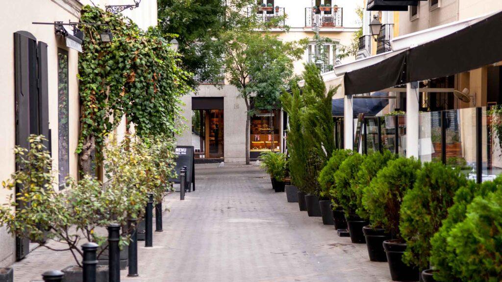 Calle Jorge Juan Madrid