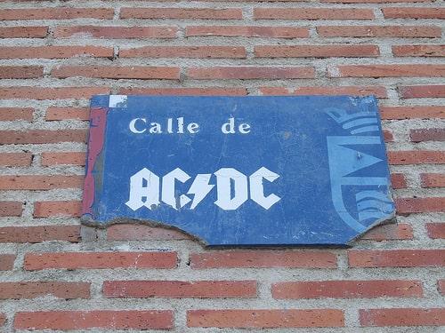 Calle de ACDC Calles con nombres más curiosos de Madrid