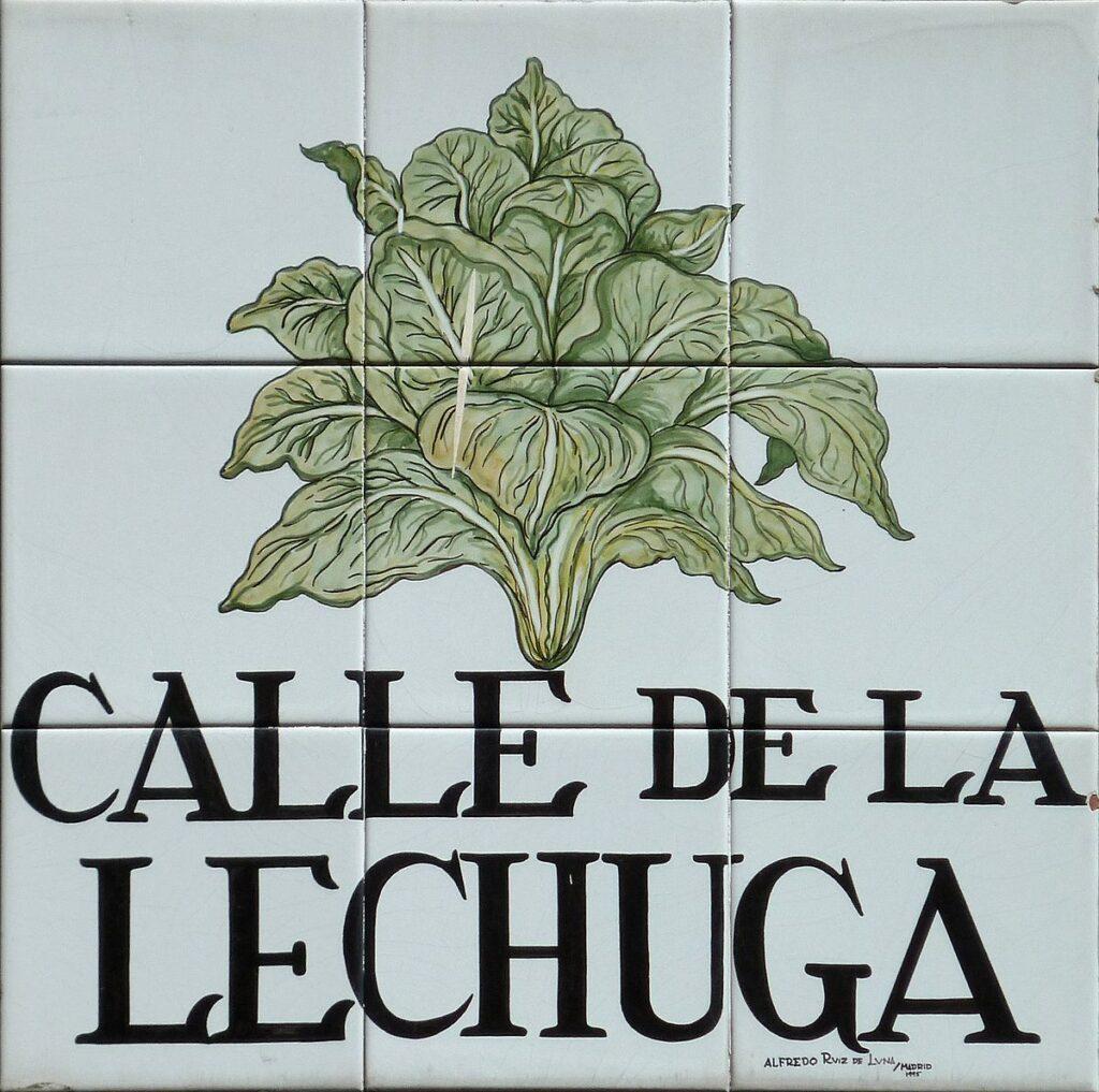 Calle de la Lechuga Madrid