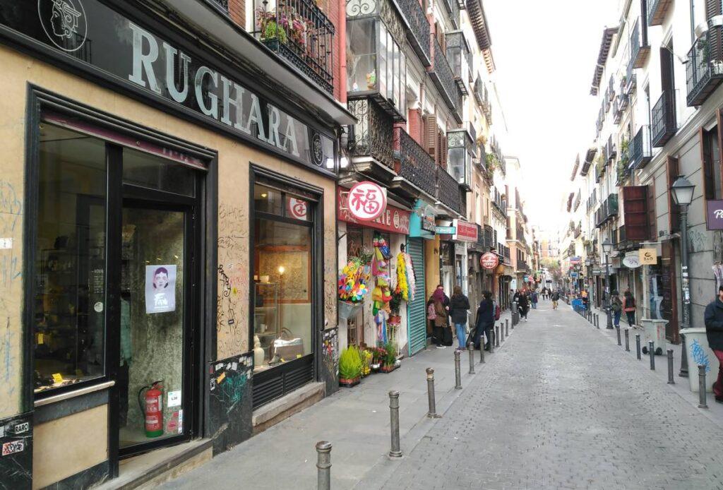 Calle del Espíritu Santo Madrid