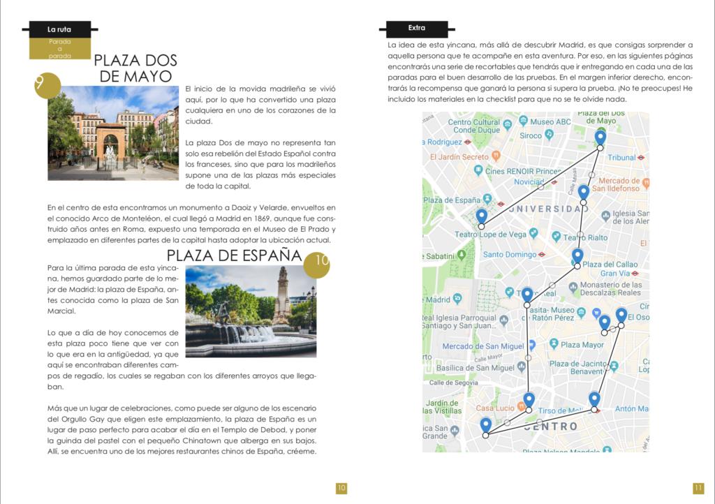 Interior ebook Yincana Madrid