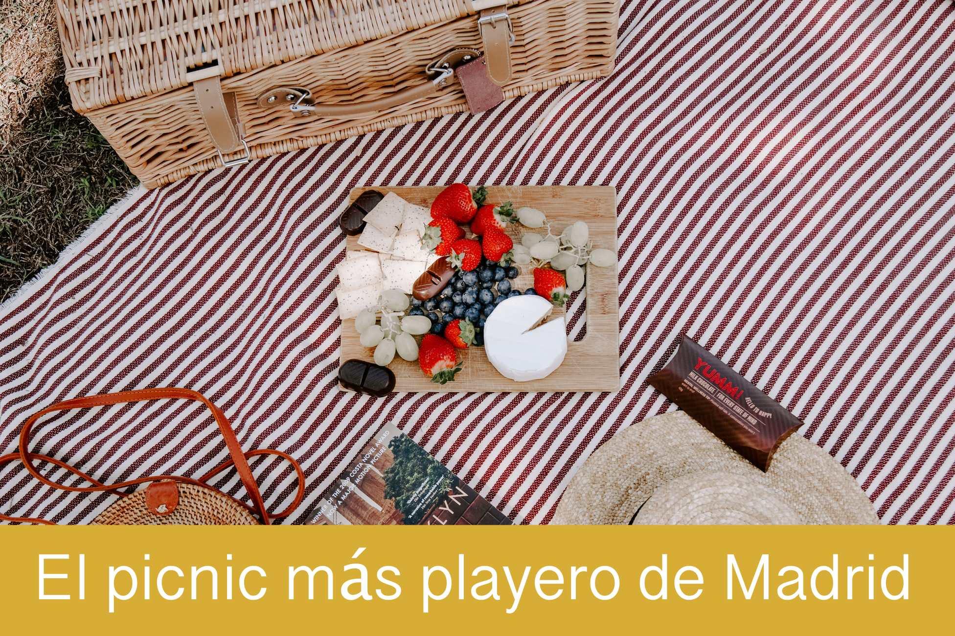 El pícnic más playero de Madrid