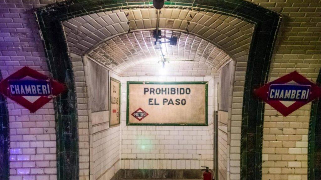 Visitar la Estación fantasma de Chamberí