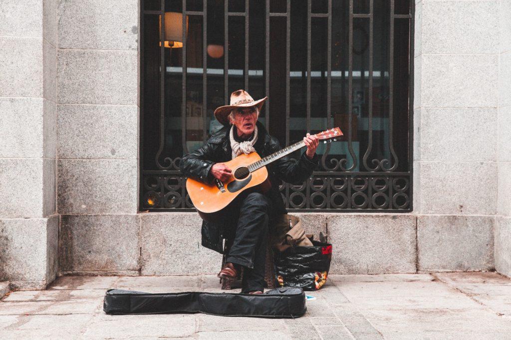 Guitarra del Teatro Real