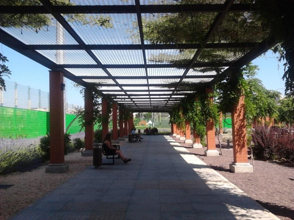 Parque de Santander Chamberí