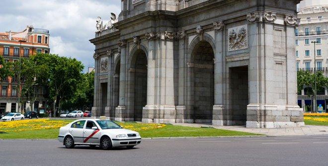 Taxi en Madrid cómo utilizarlo