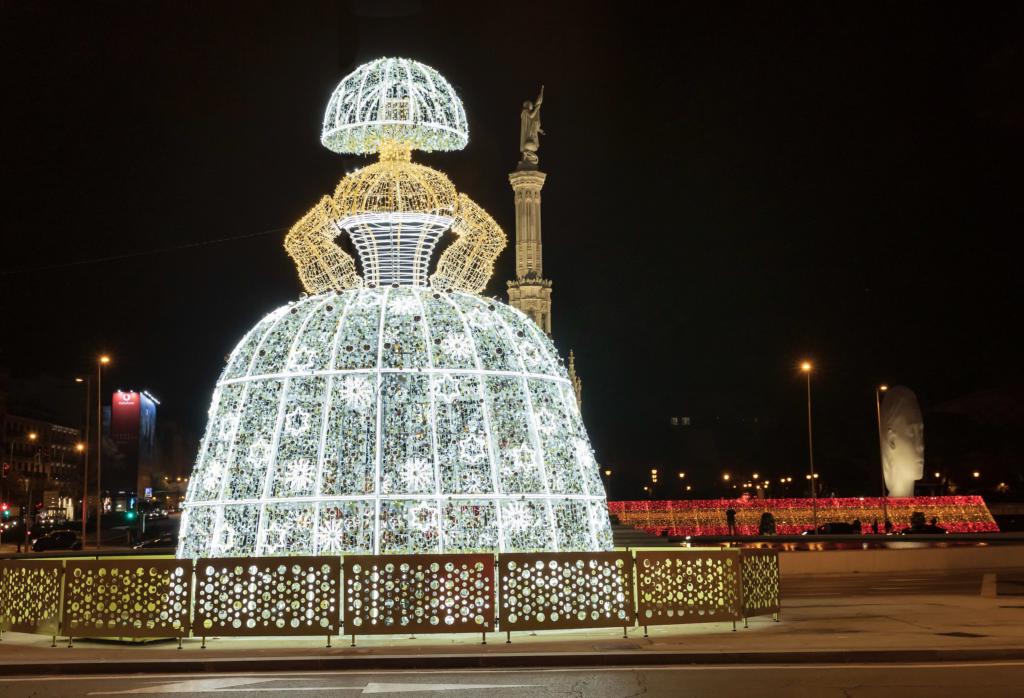 Menina Madrid Decoración Navidad