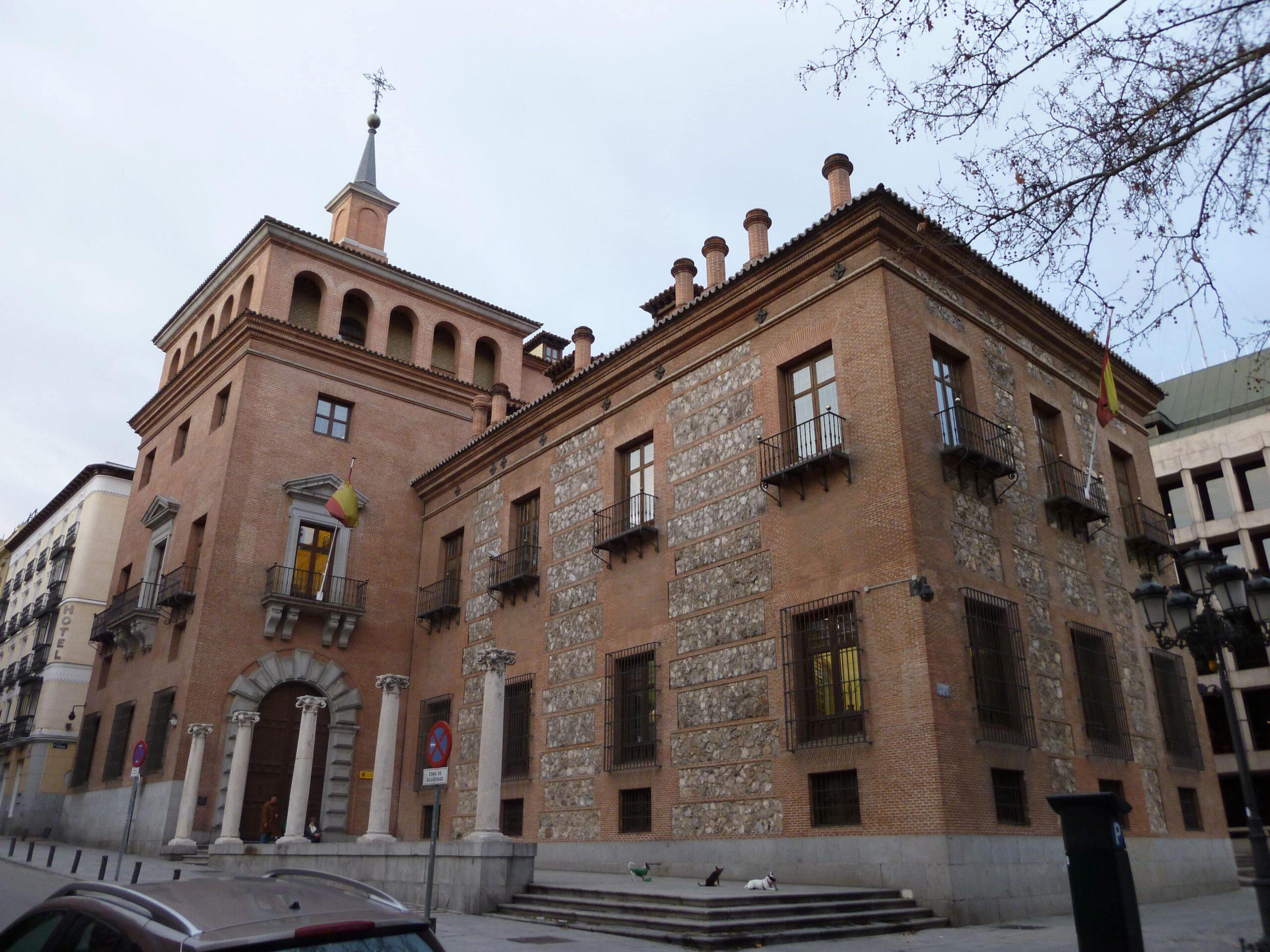 Casa de las siete chimeneas Madrid