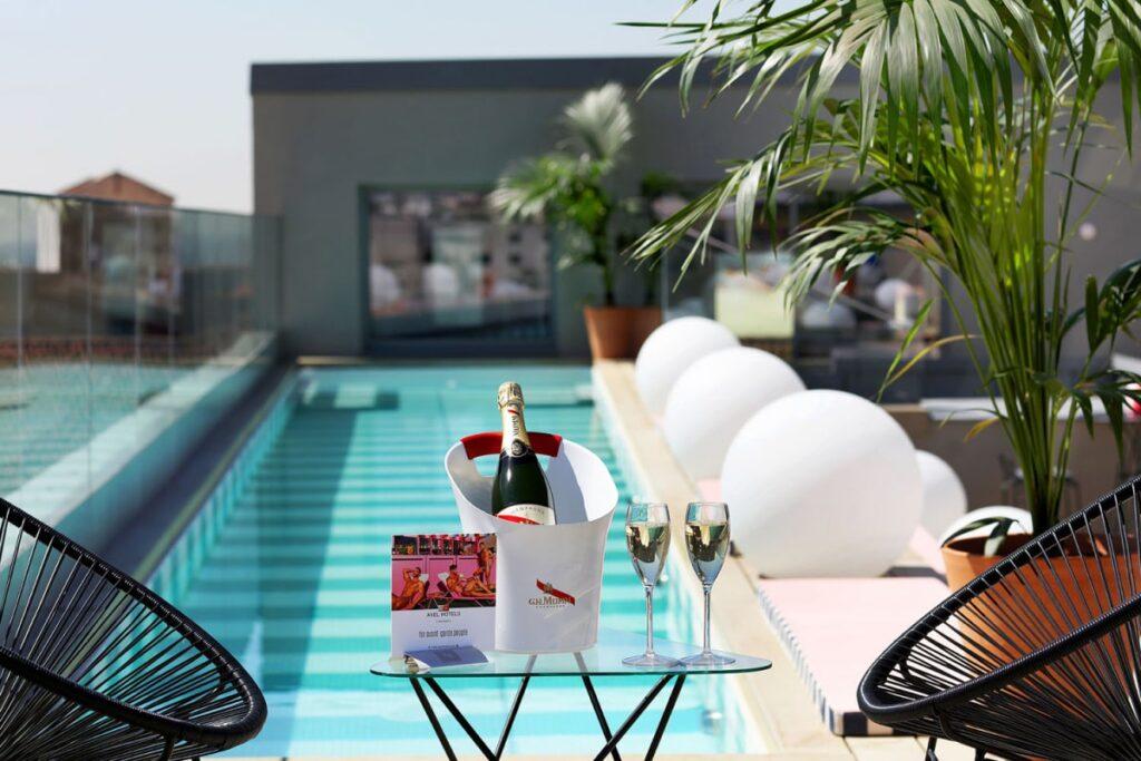 Hoteles urbanos en Madrid con piscina