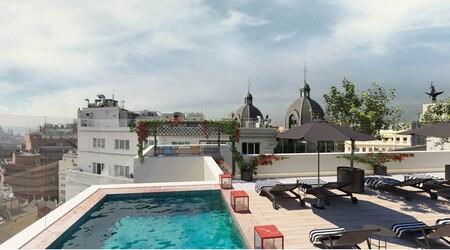 CR7 Pestana madrid Piscina Hoteles urbanos en Madrid con piscina