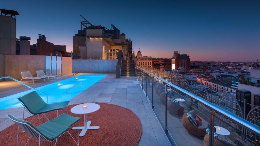 Hotel Aloft Madrid Hoteles urbanos con piscina Madrid