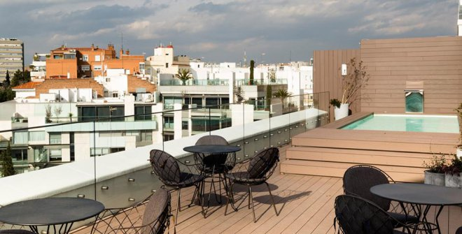 Hotel Emperatriz Madrid Hoteles urbanos con piscina Madrid