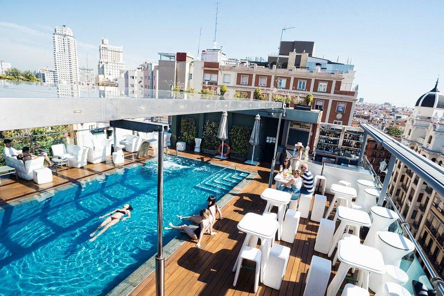 Hotel Santo Domingo Madrid Hoteles urbanos en Madrid con piscina
